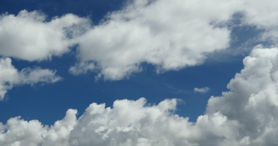 4k Panoramic of time lapse white puffy cloud mass in sky,heaven scene,mushroom-cloud,Tibet plateau climate. gh2_08754_4k