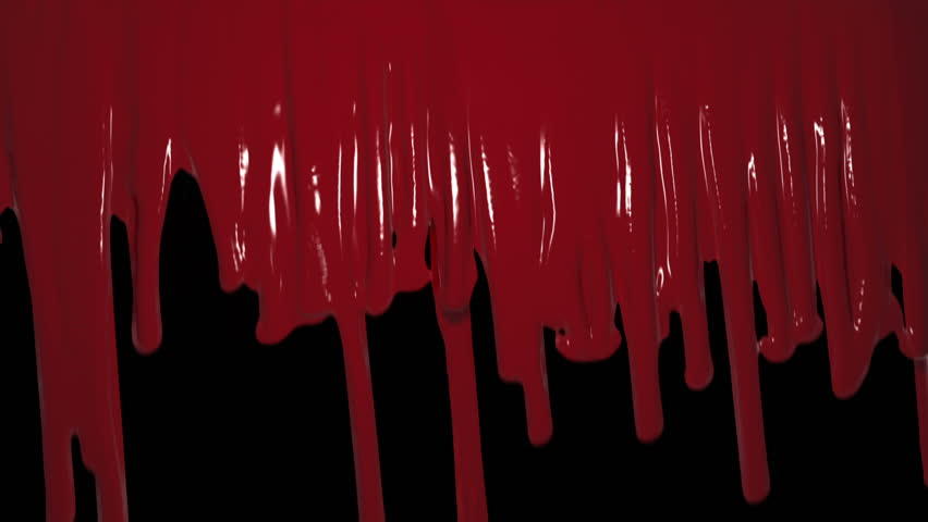Blood drips and runs down a wall.  Can be used as a transition or a wipe.  Comes with the Alpha Matte.