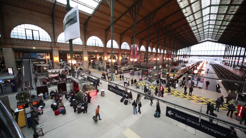 paris december 31 commuters travel through paris north station december 31 2009 in paris. Black Bedroom Furniture Sets. Home Design Ideas