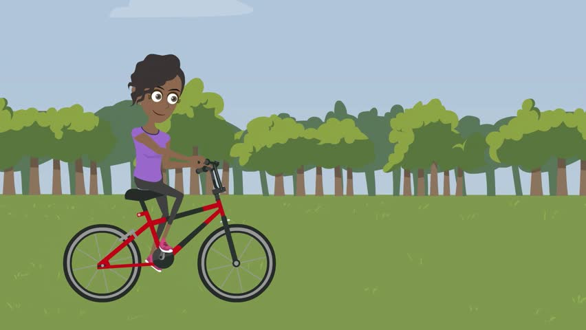 how to teach a young girl to ride a bike