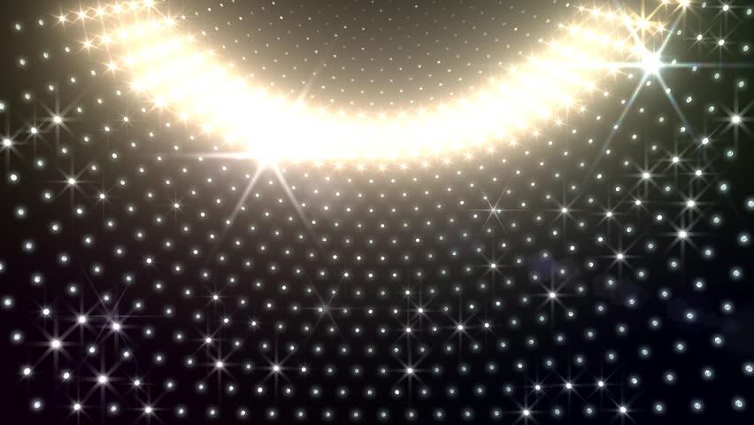 LED Light wall.