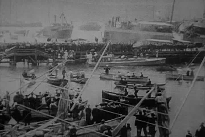 CIRCA 1950s - Greeks are pushed out of Turkey by Mustafa Kemal and given relief by allies in 1922.