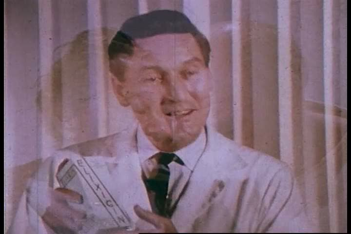 CIRCA 1960s - Testimonials, advertising, and promotional techniques helping to keep quackery working for the charlatan businessman in 1953.