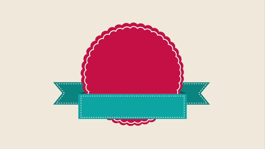 Label icon design, Video Animation