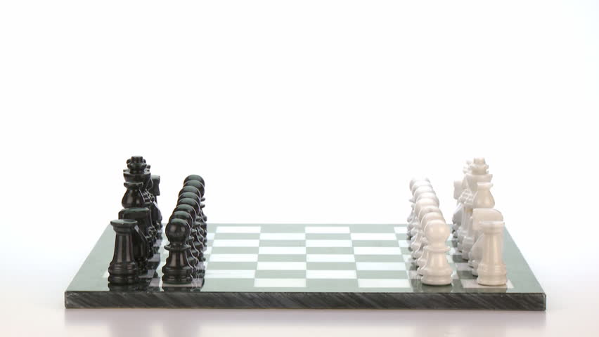 Chess Game: Time Lapse