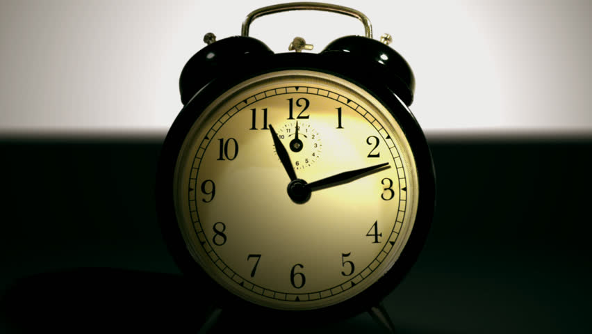 Alarm Clock Going Off Animated