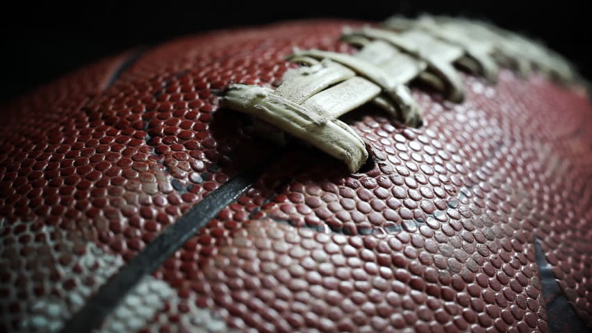 Closeup of a footbal