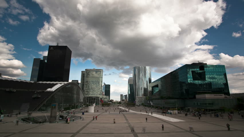 La Defense timelapse