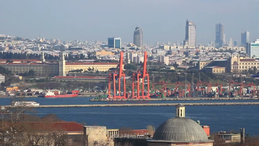 Haydarpasa Container Port, Istanbul