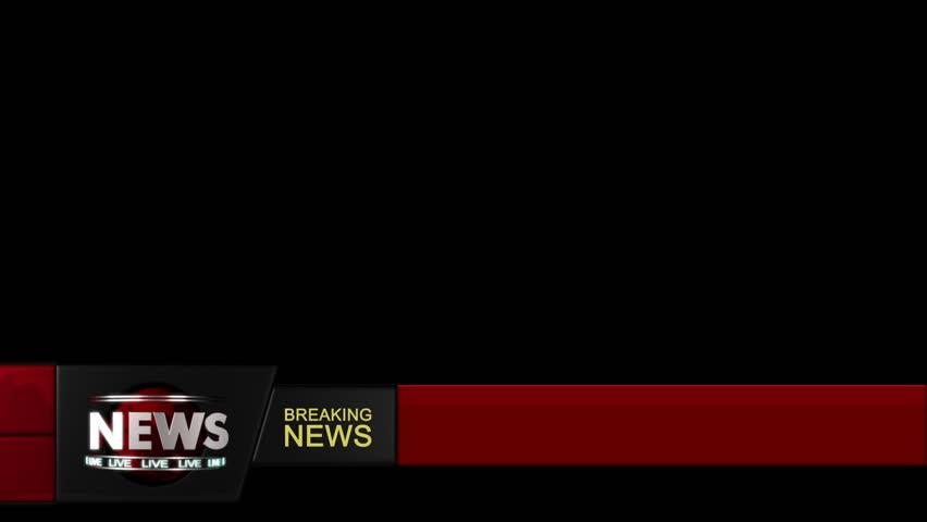 Breaking News Background