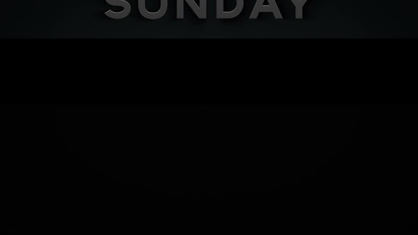 Banner - Sunday - 1