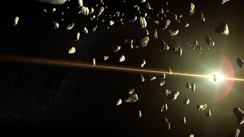 asteroid field hd - photo #8