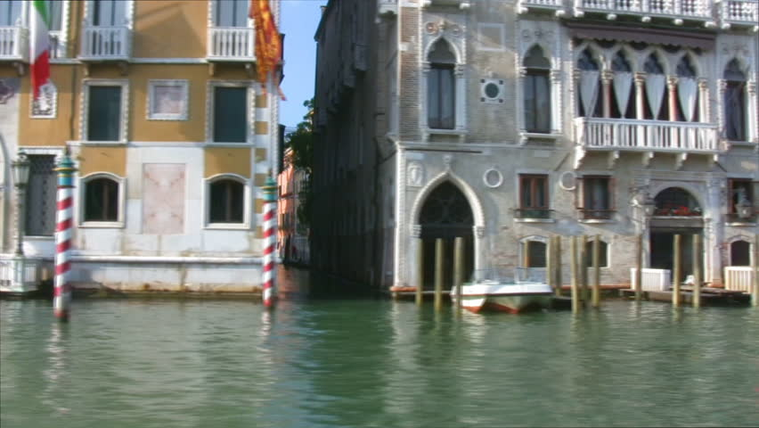 Grand Canal in Venice, Italy - HD stock video clip