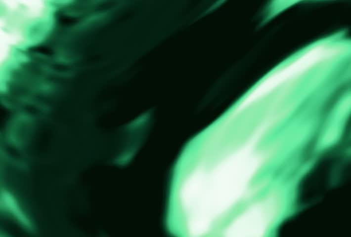 Neon green waves - SD stock video clip