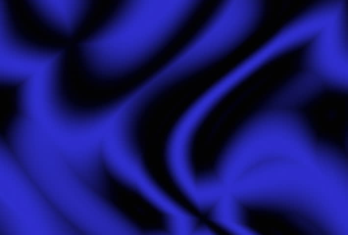 Blue and black shifting colors - SD stock footage clip