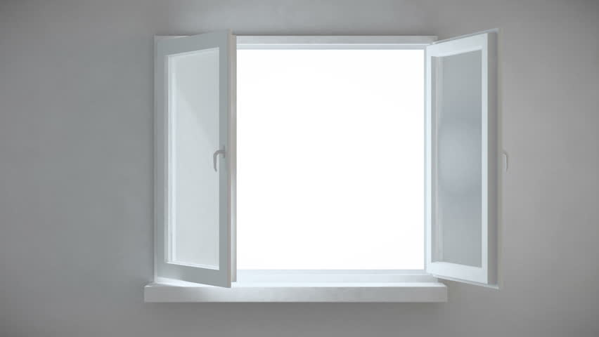 An interior view of an opening window stock footage video for Window design hd image