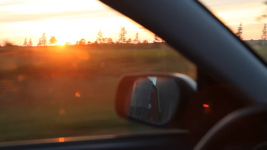 Sunset drive.