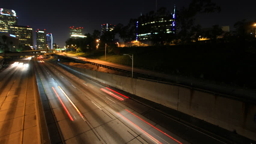 traffic at night by - photo #8
