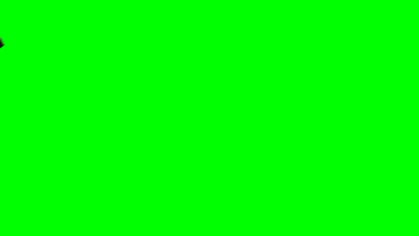 Shutter Blades Green Screen Transitions