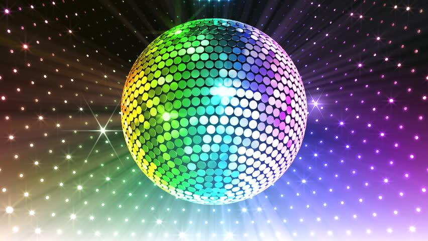 Disco Mirror Ball Lights.