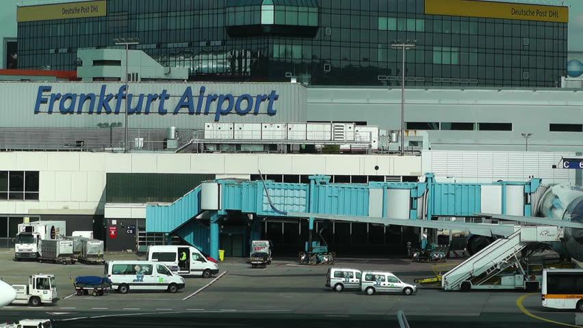 GERMANY FRANKFURT - OKT : 3 Frankfurt International Airport Germany in 2012