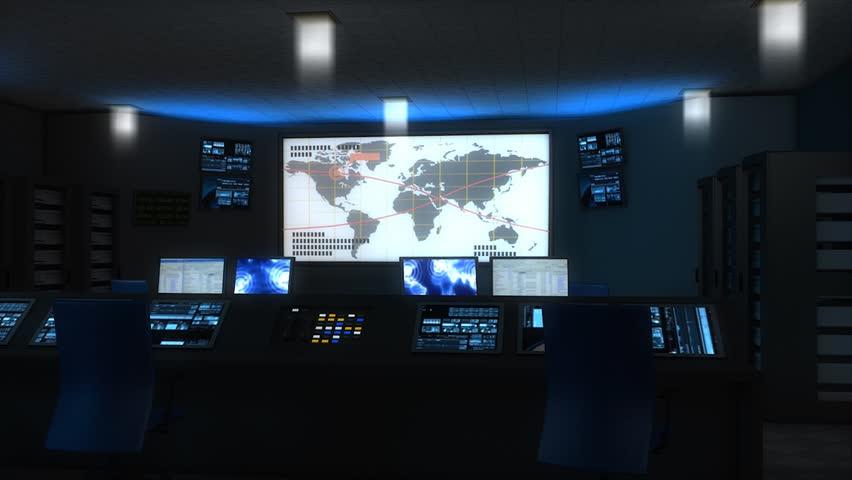 Command center.