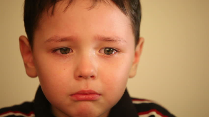 little boy crying 1 - HD stock video clip