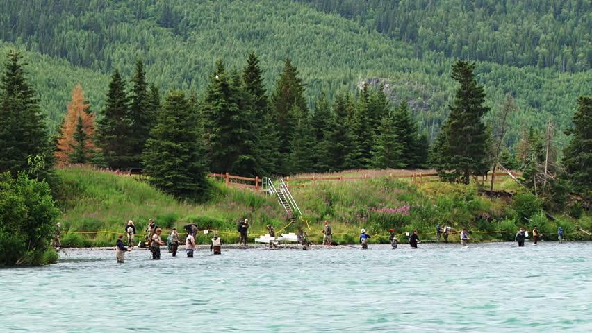 how to catch sockeye salmon on the kenai river