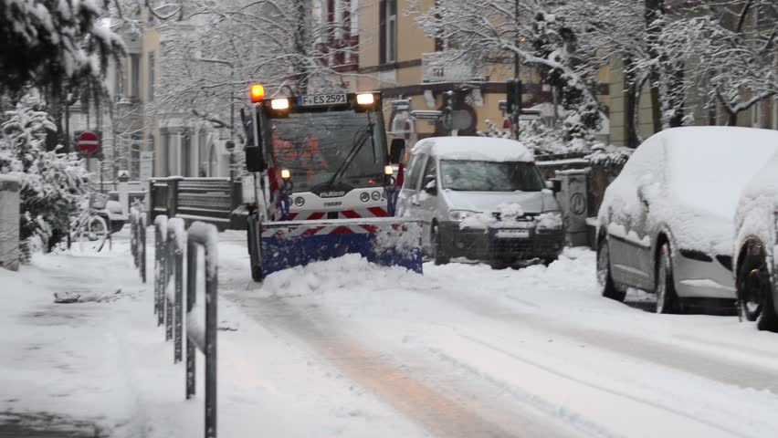 Frankfurt Germany 21 January Cars Parked In The