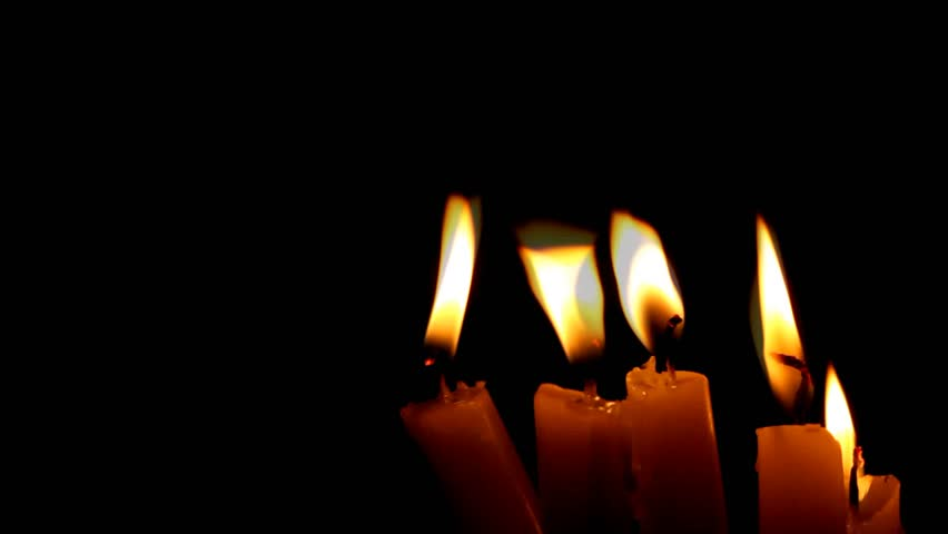 candles - HD stock footage clip
