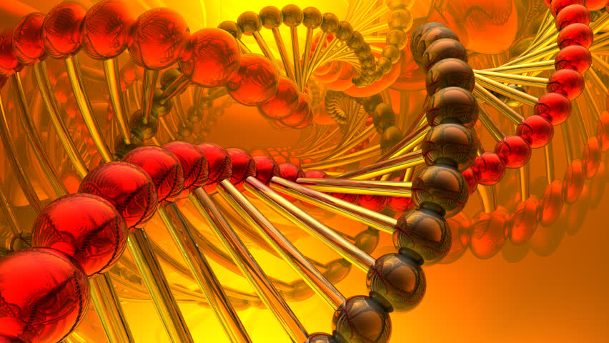 dna spiral, HD 1080p - HD stock video clip