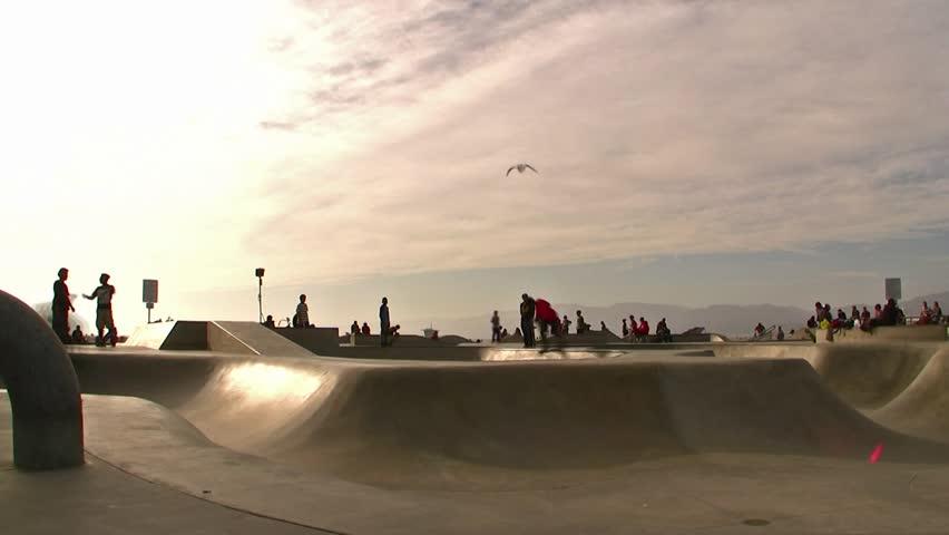 Venice Beach Skaters Time-Lapse