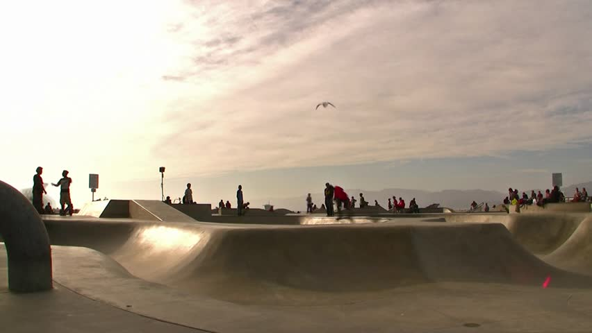 Venice Beach Skaters Time-Lapse