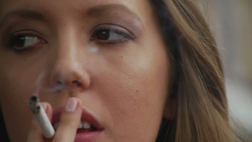 Videos of sexy women smoking