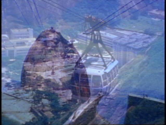 Rio de Janeiro 1982, Sugar Loaf, tram up, zoom wide to Copacabana & Rio