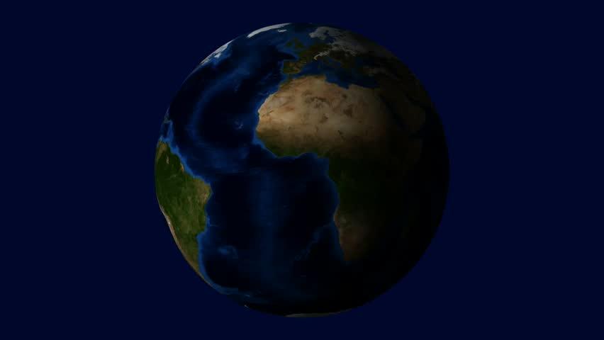 Earth. Data Source: Nasa Stock Footage Video 388126 ...