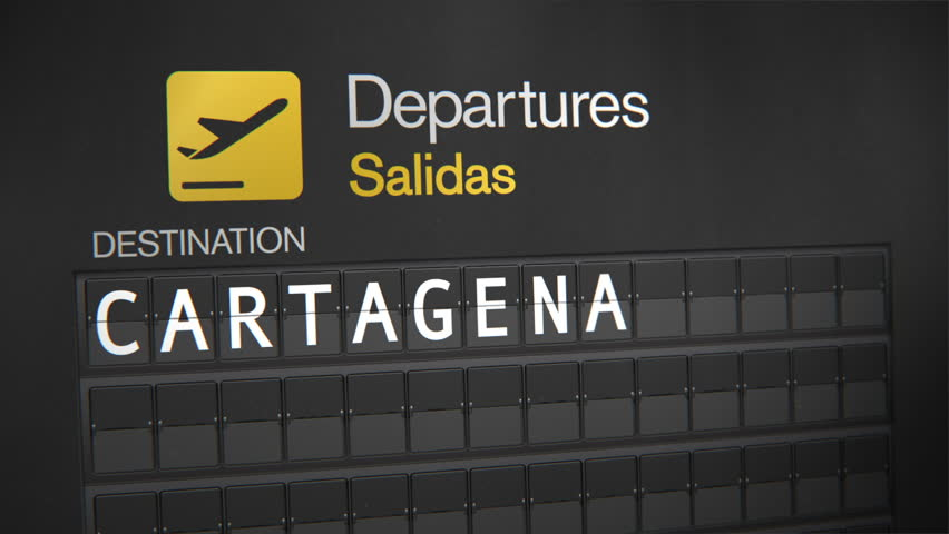Departures Flip Sign: South American Cities - Buenas Aires