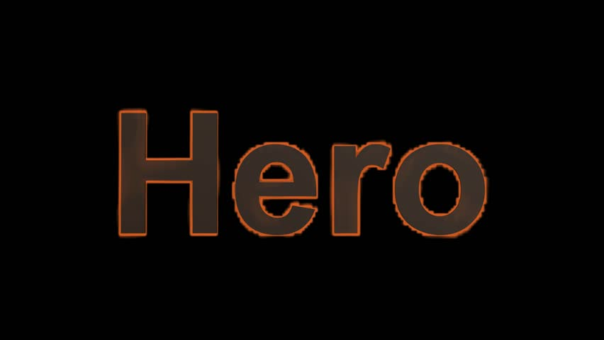 heroism word hero I'm saying to be a hero is means you step across the line and are willing to make  a sacrifice, so heroes always are making a sacrifice heroes always take a risk.