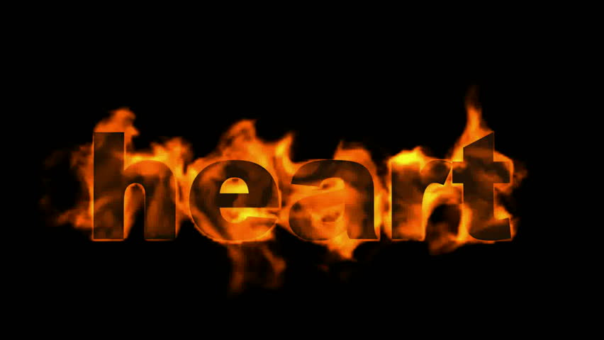 fire heart word.