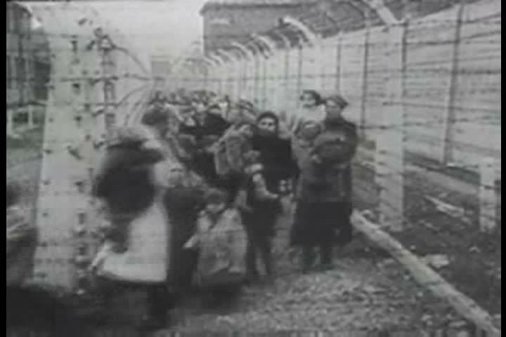 1940s - Survivors of the Holocaust are discovered by Allied forces at concentration camps after World War 2