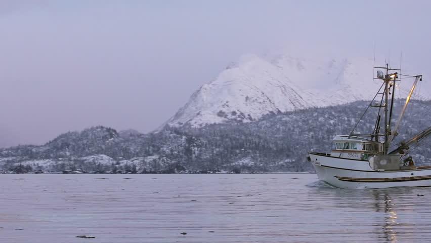Commercial fish processing dock in homer alaska in for Alaska fishing boats