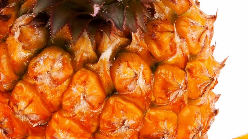 exotic fruit food - a lot of fresh raw tropical fruits include pineapple and mango 1920x1080 intro motion slow hidef hd