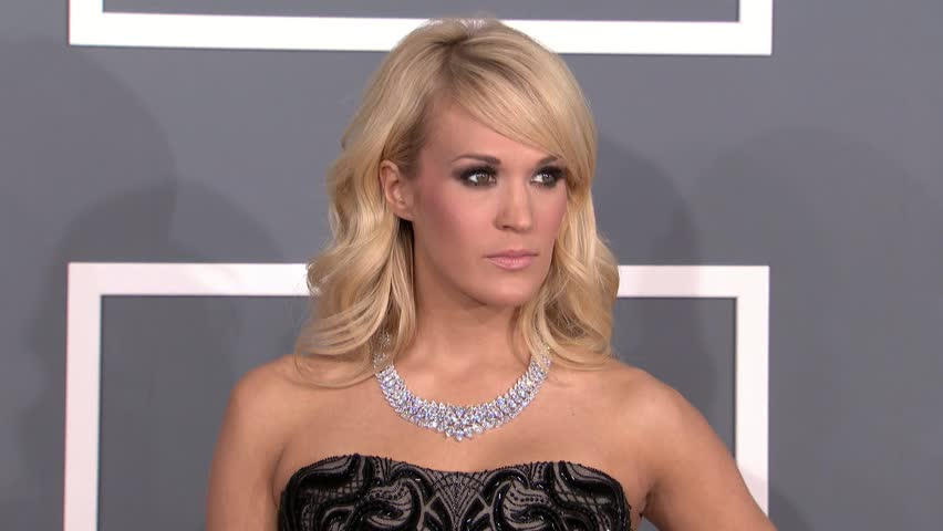 LOS ANGELES - February 10, 2013: Carrie Underwood at the Grammy Awards 2013 in the Staples Center in Los Angeles February 10, 2013