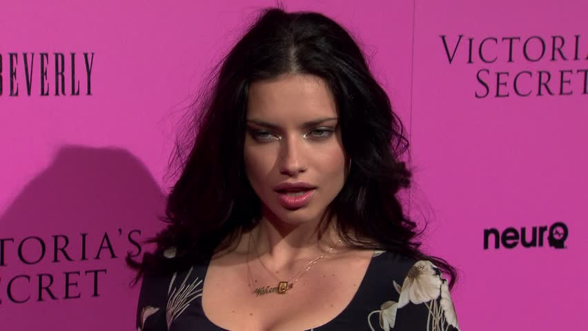BEVERLY HILLS - May 12, 2011: Adriana Lima at the Victoria's Secret Celebrates the 2011 What Is Sexy List Party in the The Beverly in Beverly Hills May 12, 2011
