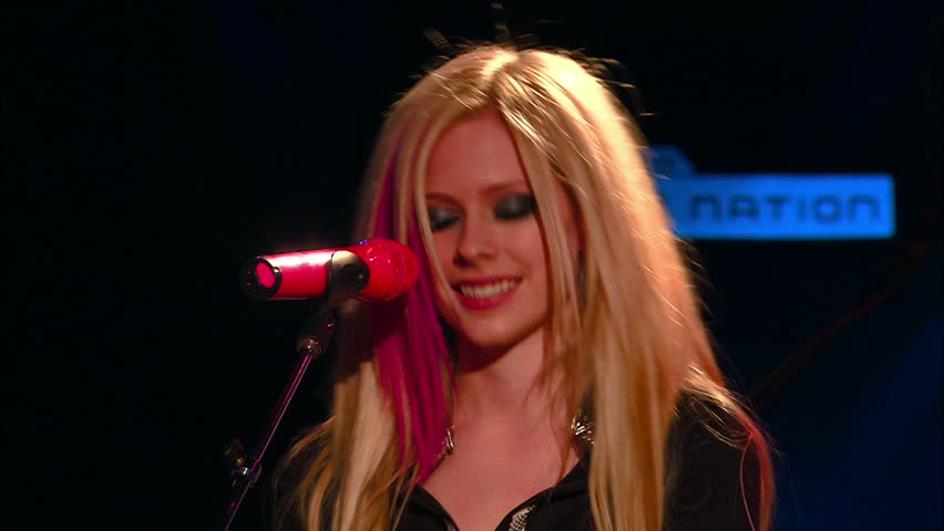 WEST HOLLYWOOD - November 6, 2007: Avril Lavigne at the Avril Lavigne Announcement and Performance in the Whisky A-Go-Go in West Hollywood November 6, 2007