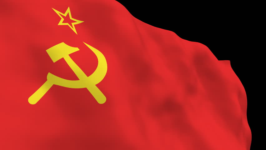pics for gt communist russia flag waving