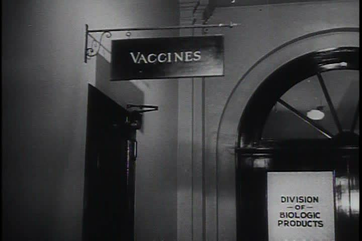 1950s - The Asian Flu epidemic of 1957 is effectively combated by the Army medical service. - SD stock footage clip
