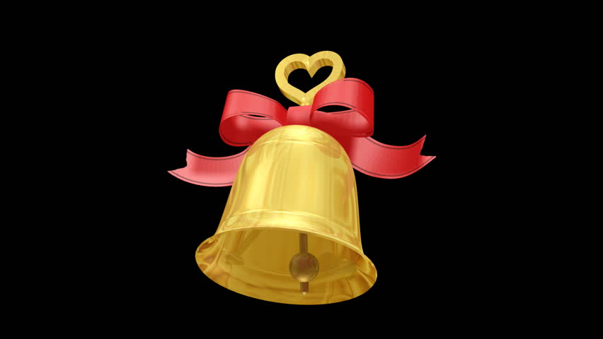 Wedding Bell. - HD stock video clip