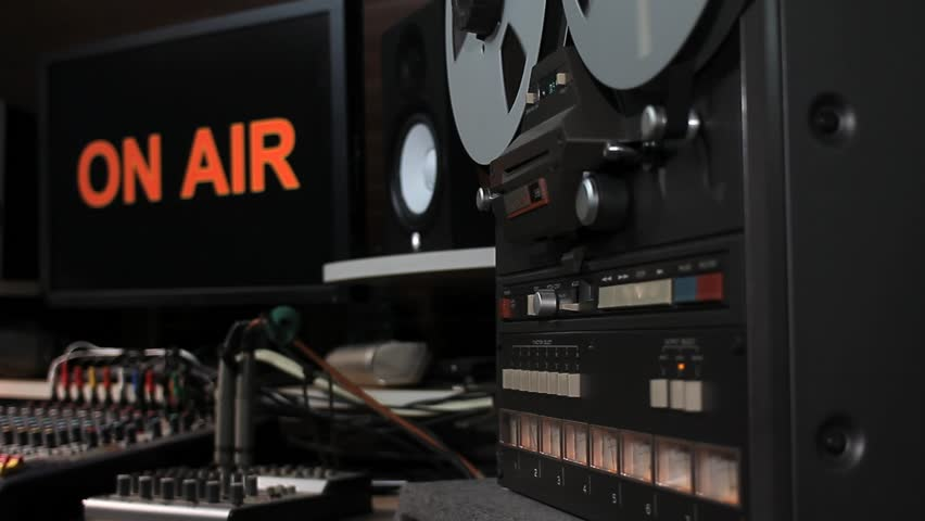 "A Tracking Shot in an ""On Air"" Control Room."