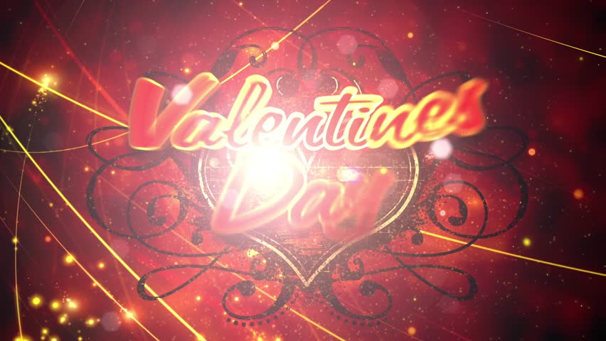 Hot Valentine – This video features animated camera moves and heart shield with animated text wishing the viewer a HOT Valentine's Day.